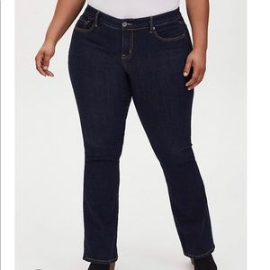 Torrid Source of Wisdom Slim Bootcut Jeans, Sz 24